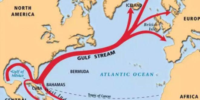 Resultado de imagen de corriente del golfo de México