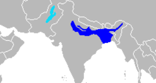 Ranges of the Ganges River Dolphin and of the Indus River Dolphin