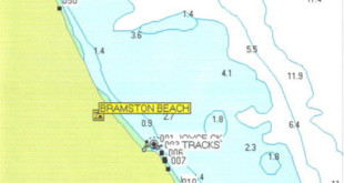 North Map Bramston Beach