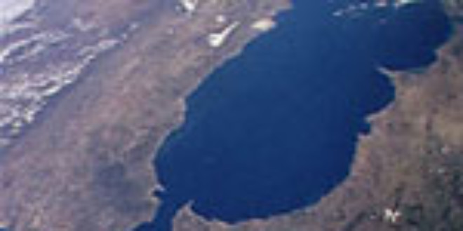 Strait of Gibraltar. Via Wikipedia